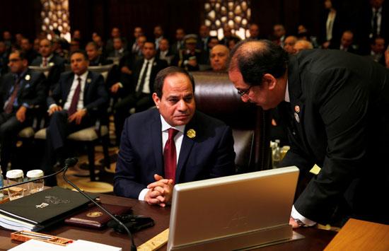الرئيس المصرى عبد الفتاح السيسى