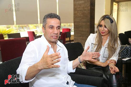 العميد محمد سمير و زوجته (12)