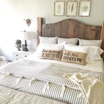بالصورلون الخشب وجذوع الأشجار أحدث موديلات غرف نوم 2017