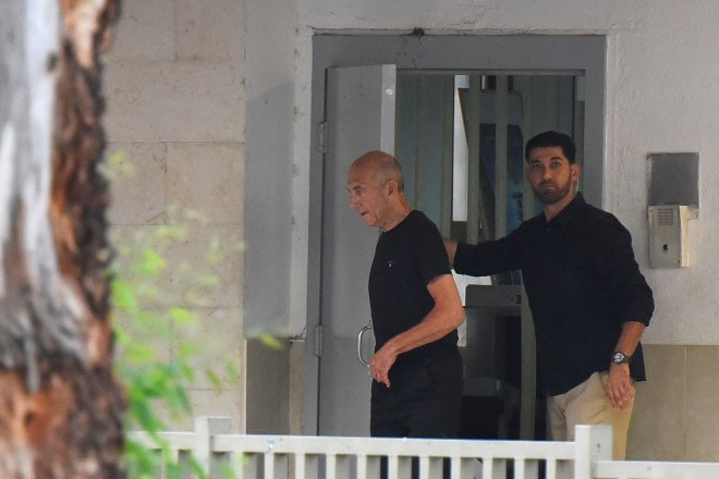 رئيس الوزراء الإسرائيلى السابق إيهود أولمرت