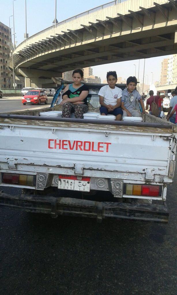 المرور يشن حملات على سيارات نقل تحمل ركاب على الطرق (5)