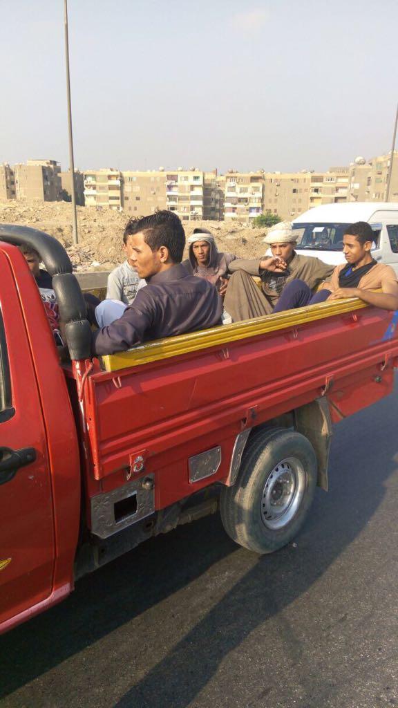 المرور يشن حملات على سيارات نقل تحمل ركاب على الطرق (7)