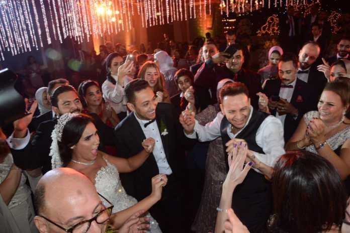 Khaled Ajaj viert het huwelijk van zijn dochter Mary te midden van de sterren (2)