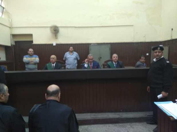 محاكمة محافظ المنوفية المتهم بالرشوة (2)