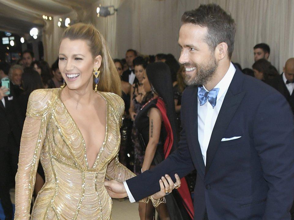 Blake Lifley and Ryan Reynolds