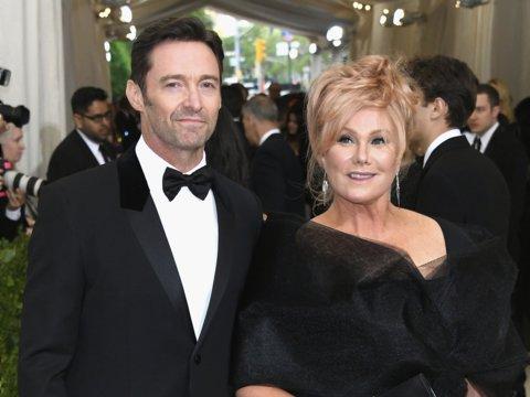 Hugh Jackman and his wife Deborah Lee Fernse