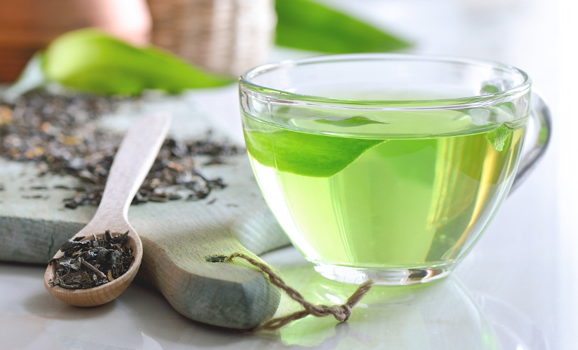 الشاى الأخضر