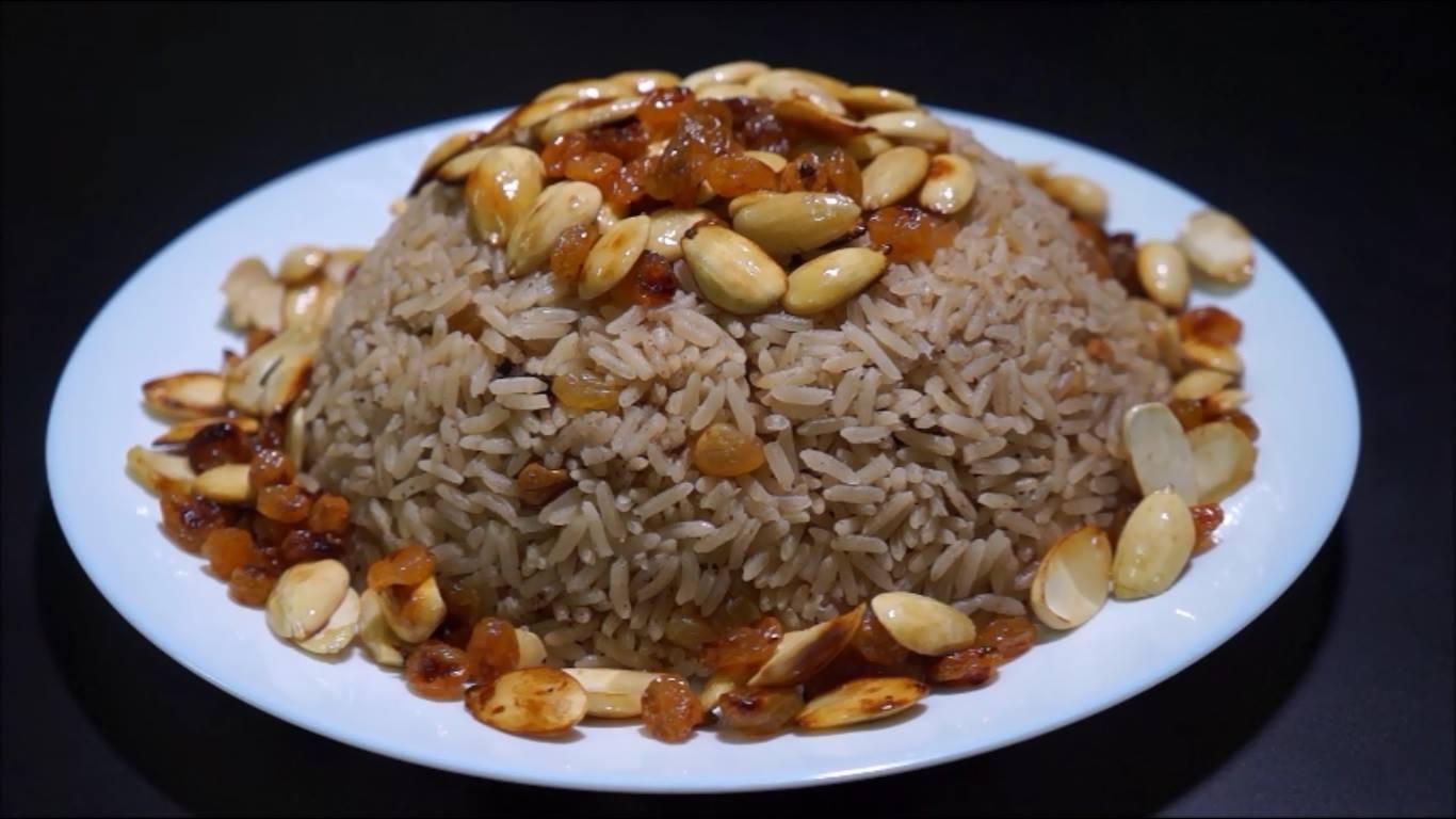طريقة عمل أرز بالقرفة والمكسرات اليوم السابع