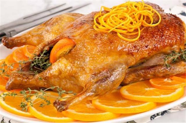 طريقة عمل البط بالبرتقال (2)