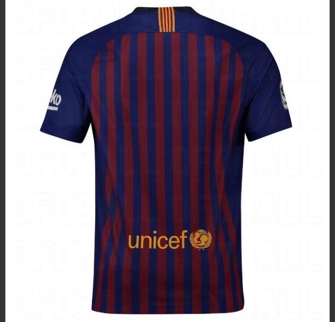 قميص برشلونة الموسم المقبل