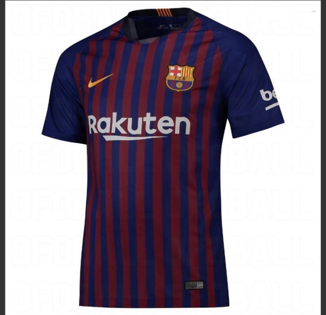 قميص برشلونة 2018-2019