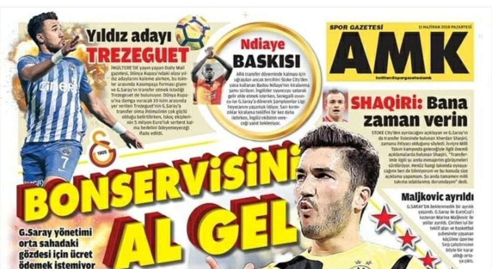 تريزيجيه حديث الصحافة التركية