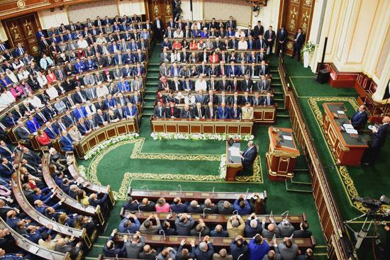 خطاب الرئيس السيسى أمام البرلمان (2)