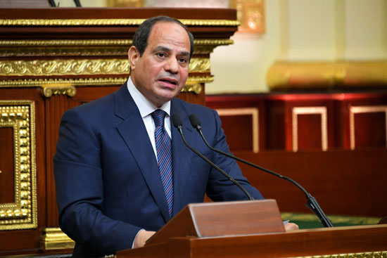 خطاب الرئيس السيسى أمام البرلمان (16)