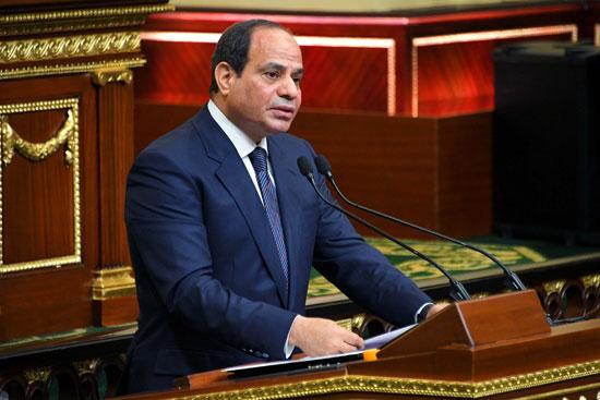خطاب الرئيس السيسى أمام البرلمان (15)