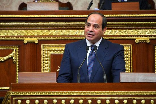 خطاب الرئيس السيسى أمام البرلمان (13)