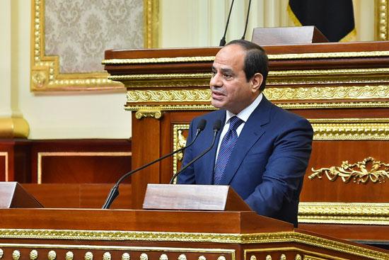 خطاب الرئيس السيسى أمام البرلمان (10)