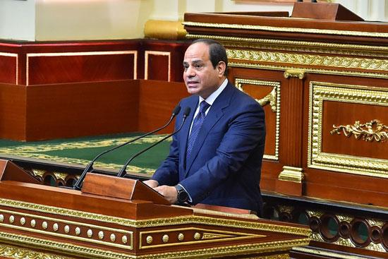 خطاب الرئيس السيسى أمام البرلمان (11)