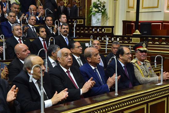 خطاب الرئيس السيسى أمام البرلمان (6)
