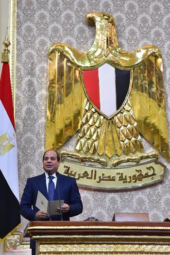 خطاب الرئيس السيسى أمام البرلمان (24)