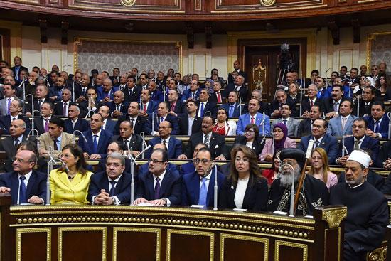 خطاب الرئيس السيسى أمام البرلمان (8)