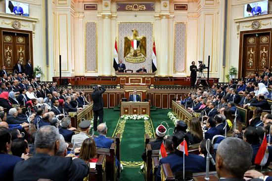 خطاب الرئيس السيسى أمام البرلمان (19)