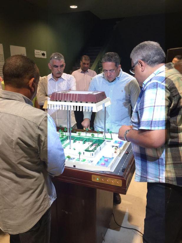 وزير الآثار يتابع أعمال متحف سوهاج لقرب افتتاحه (2)