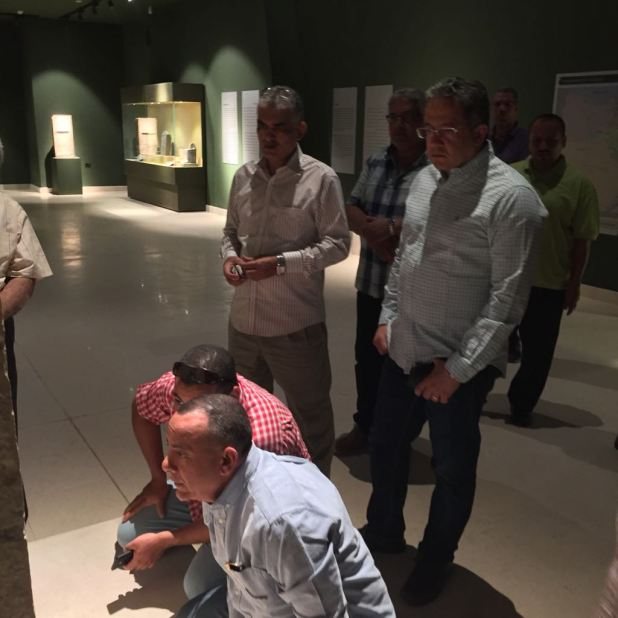وزير الآثار يتابع أعمال متحف سوهاج لقرب افتتاحه (1)