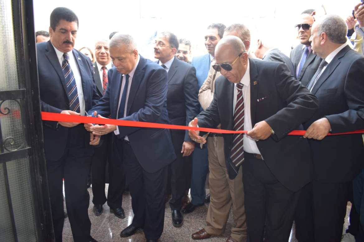 افتتاح مقر النيابة الإدارية فى مدينة العبور (8)