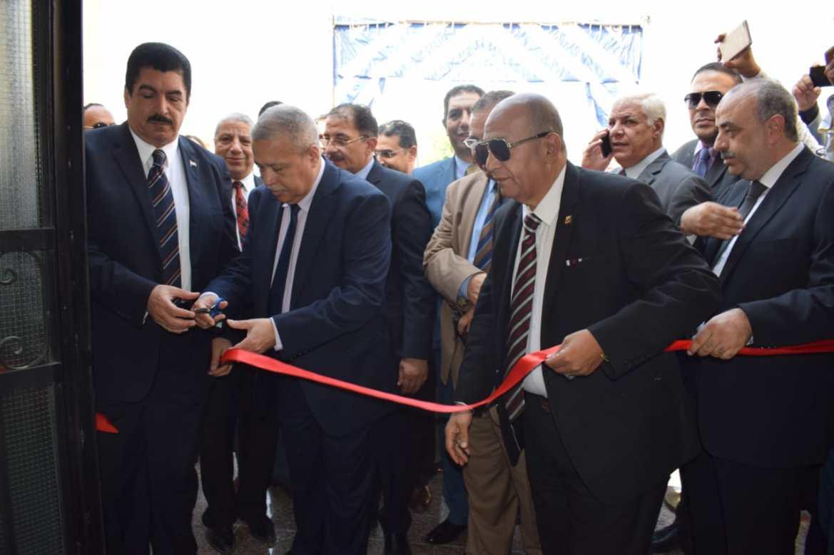 افتتاح مقر النيابة الإدارية فى مدينة العبور (4)