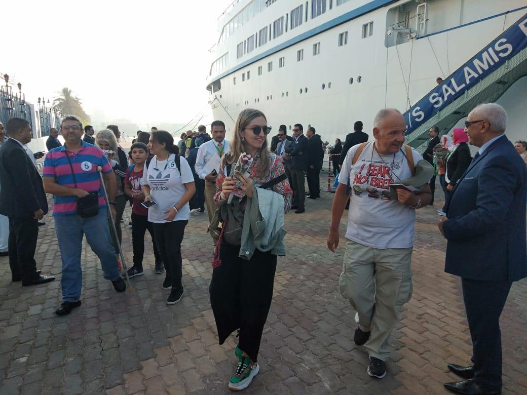 السفينة القبرصية على ميناء الإسكندرية (3)