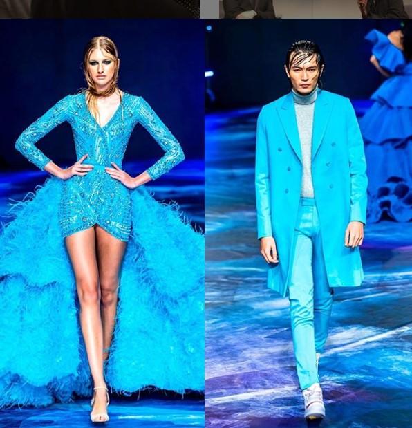 الفستان الذى ارتدته الفنانة مى عمر