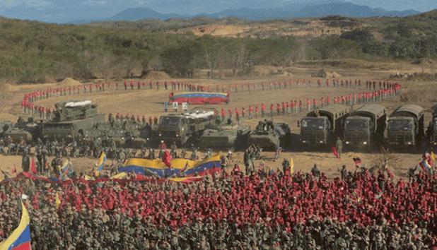 التدريبات العسكرية الفنزويلية