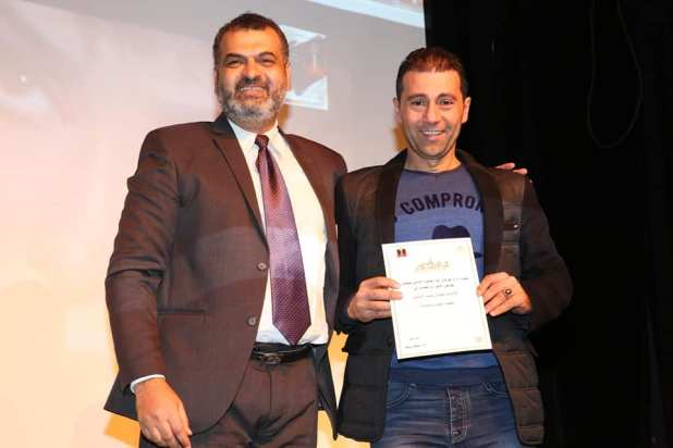 تكريم مهرجان القاهرة الدولي للمونو دراما للمخرج جمال عبد الناصر