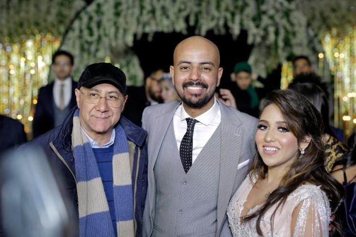 Bahaauddin Mohammed avec la mariée