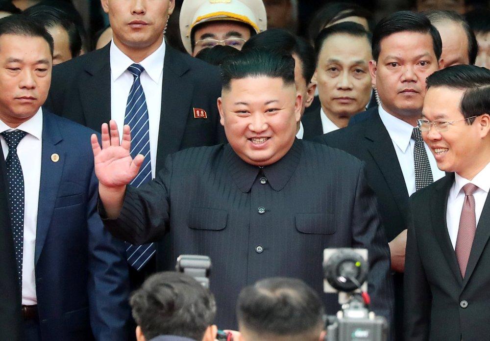 وصول زعيم كوريا الشمالية إلى فيتنام (1)