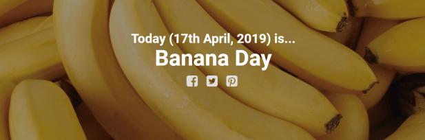 يوم الموز الدولي