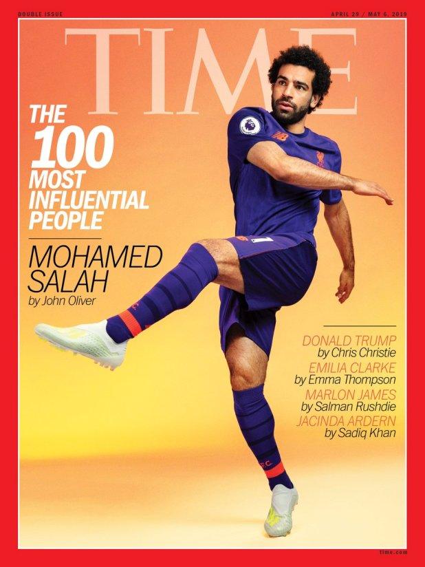 محمد صلاح على التغطية الزمنية