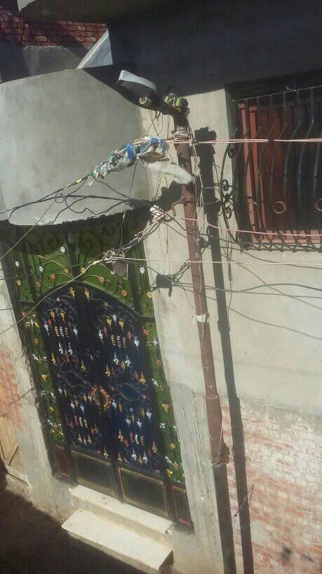 الكهرباء تهالك