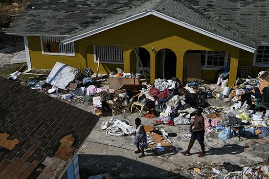 خسائر اعصار دوريان