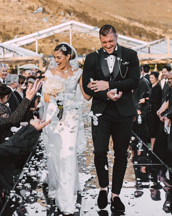 American baseball and Miss Universe 2017 wedding ceremony