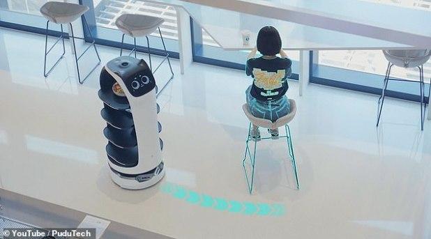 الروبوت الصينى
