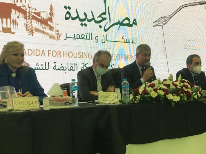 هشام ابو العطا خلال اللقاء