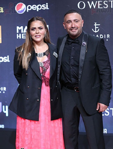 Ahmed El Sakka and his media wife Maha Al Sagheer