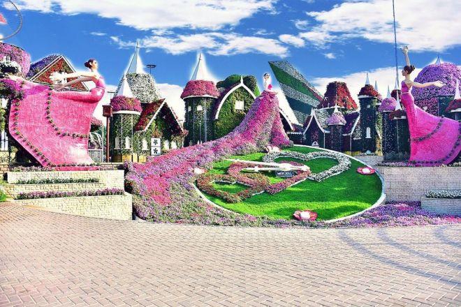 """حديقة دبى للزهور.. 20 صورة من """"ميراكل جاردن"""" المعجزة بملايين النباتات -  اليوم السابع"""