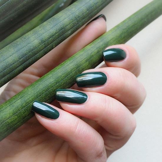 الأخضر الغامق