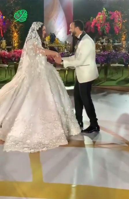 حفل زفاف هنادي مهنا واحمد صالح