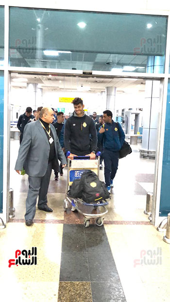 Tunisian Esperance arrives in Cairo (21)