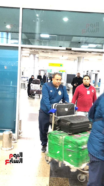 Tunisian Esperance arrives in Cairo (11)