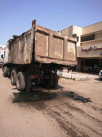 سكان شارع النجدة وقرية السعدية البحرية بدمياط